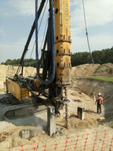 Poland piles for wind turbine foundation