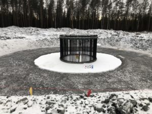 SOFT-SPOT in Kannus Windpark in Finland