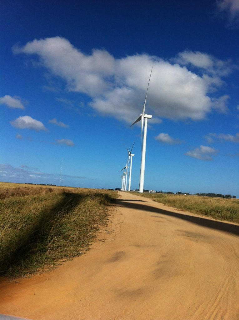 CTE Wind Brasil provides cost saving onshore foundations. Aerogeradores tipo Vestas - V150 4,2 MW no estado do Rio Grande do Norte  usando Soft-Spot®